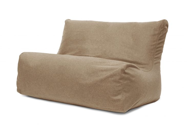Kott-Tool Sofa Seat Wool Light Brown