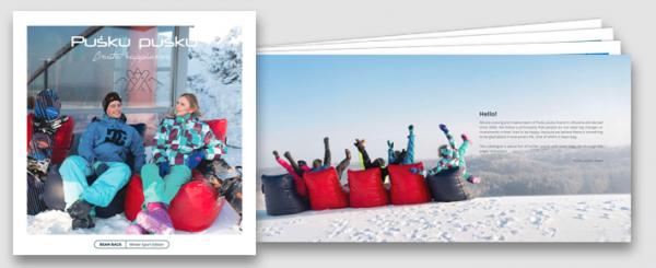 Pusku pusku Katalog - Sitzsäcke für Winter