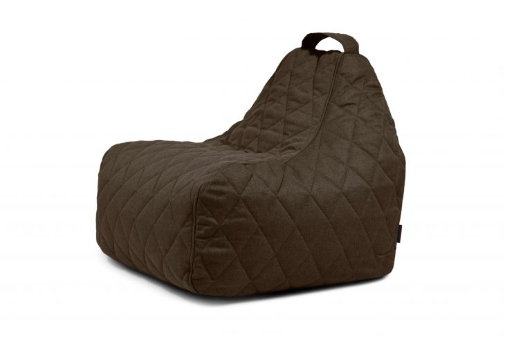 Sitzsack Game Quilted Nordic Chocolate