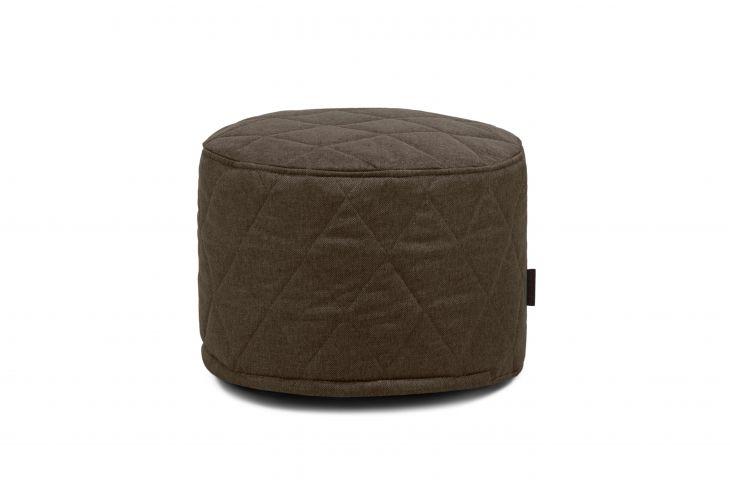 Sitzsack Bezug Mini Quilted Nordic Chocolate