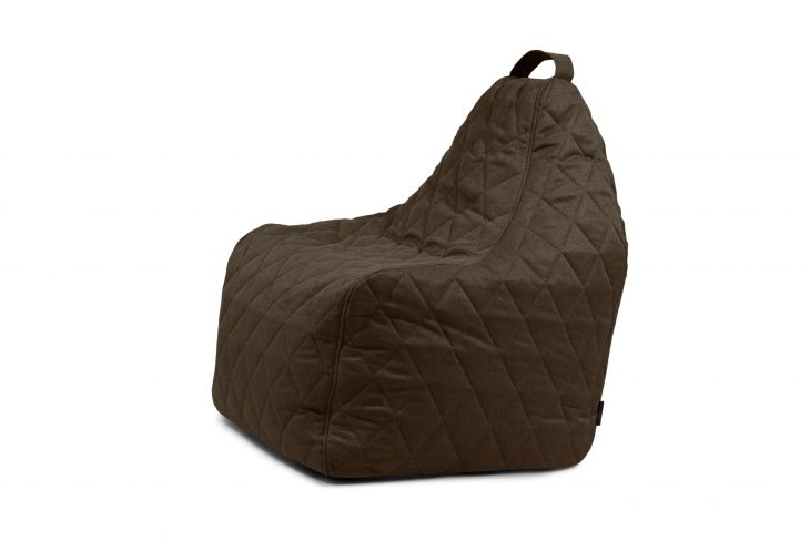 Bean bag Play Quilted Nordic Chocolate