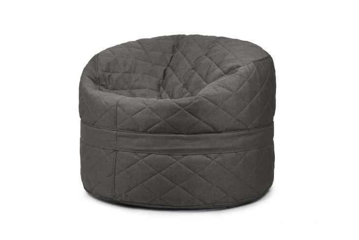 Sitzsack Bezug Roll 100 Quilted Nordic grau