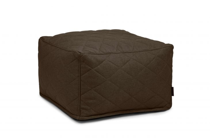 Pouf Softbox Quilted Nordic Chocolate
