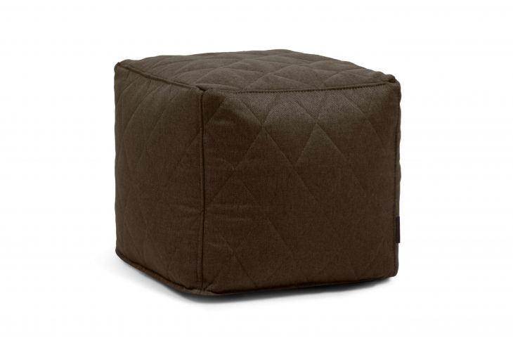 Pouf Up! Quilted Nordic Chocolate