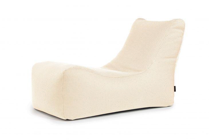 Sitzsack Bezug Lounge Capri beige