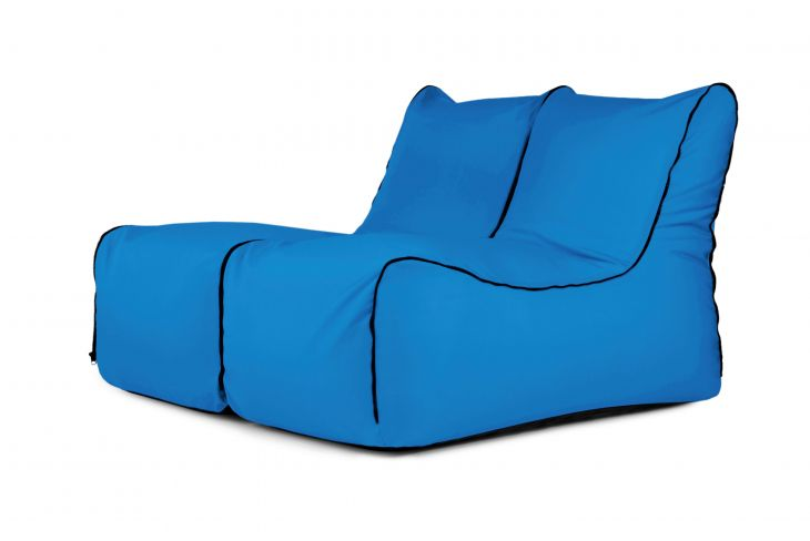 Set - Set Lounge Zip 2 Seater Colorin Azure