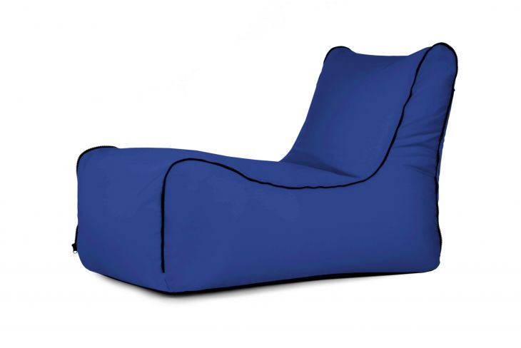 Sitzsack Lounge Zip Colorin Blau