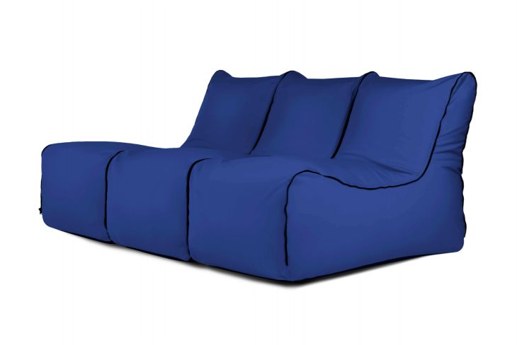 Kott-tooli komplekt - Set Lounge Zip 3 Seater Colorin Blue