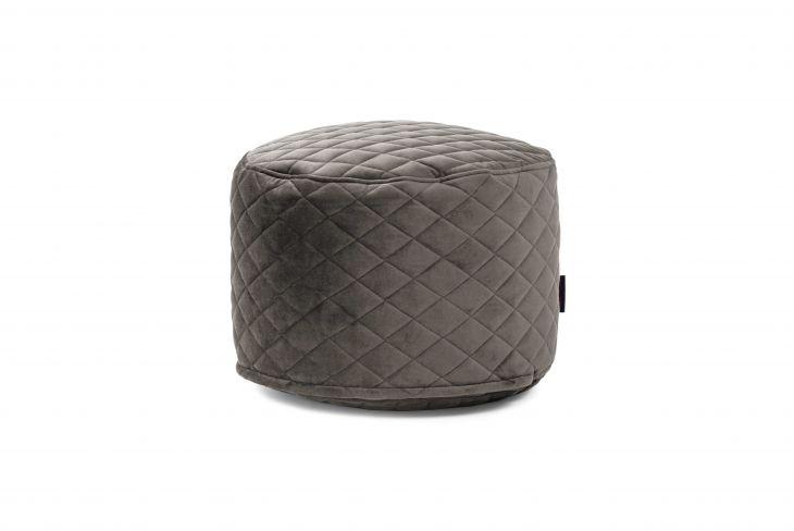 Sitzsack Bezug Mini Lure Luxe grau