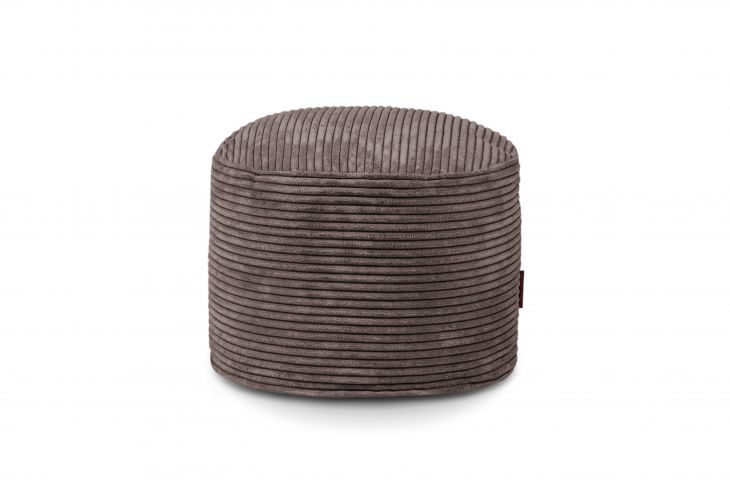 Pouf Mini Waves Chocolate