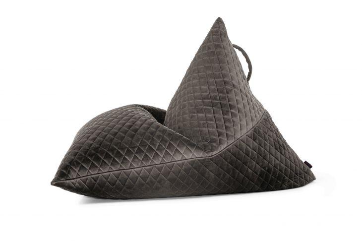 Sitzsack Bezug Razz Lure Luxe grau