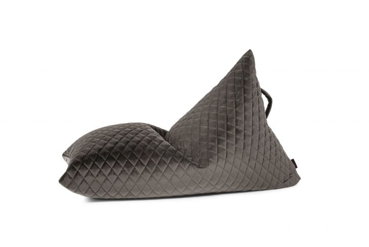 Sitzsack Bezug Razzy Lure Luxe grau