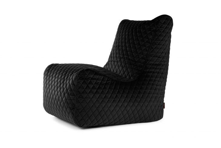 Sėdmaišio užvalkalas Seat Lure Luxe Black
