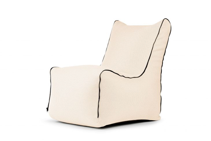 Bean bag Seat Zip Capri Beige