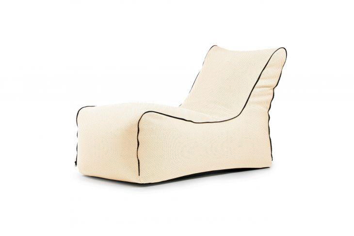Sitzsack Bezug Lounge Zip Capri beige