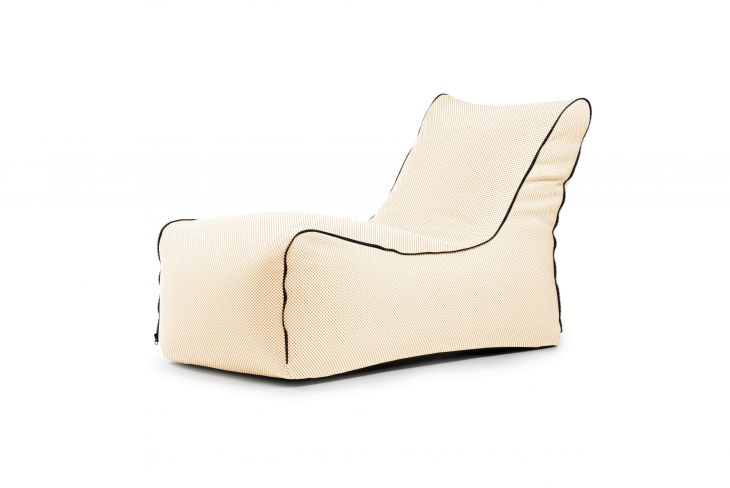 Bean bag Lounge Zip Capri Beige