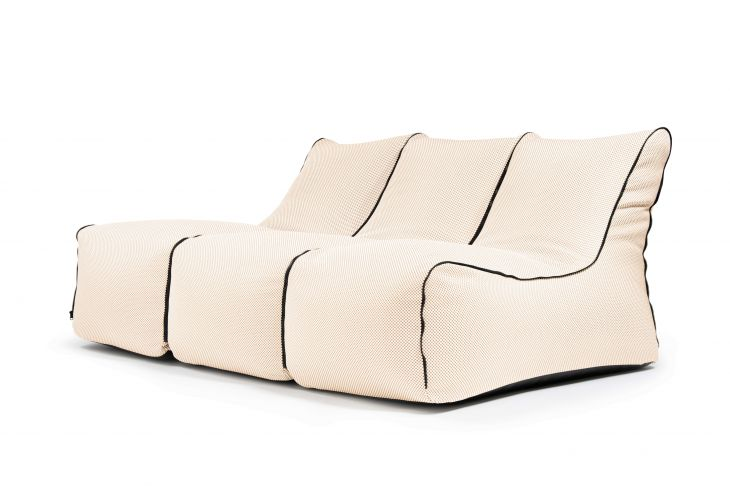 Kott-tooli komplekt - Set Lounge Zip 3 Seater Capri Beige