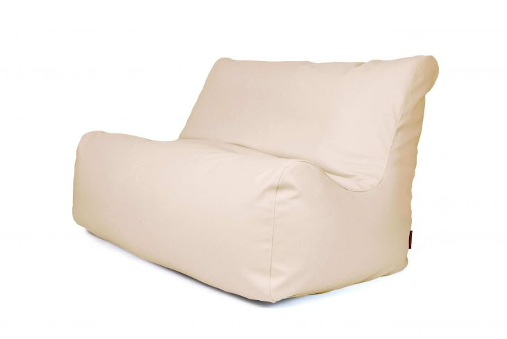 Bean bag Sofa Seat Outside Beige