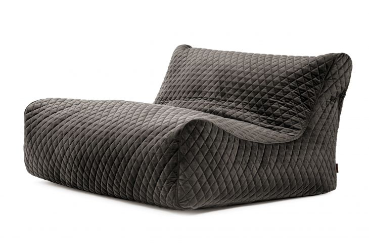 Sitzsack Sofa Lounge Lure Luxe Grey