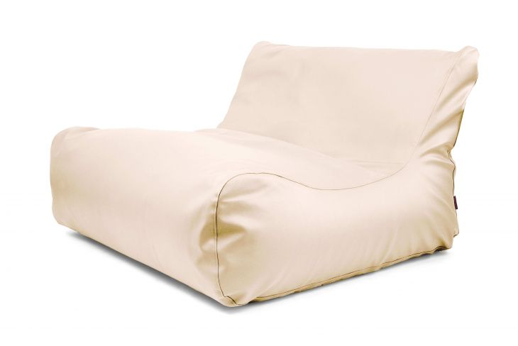 Sitzsack Sofa Lounge Outside Beige
