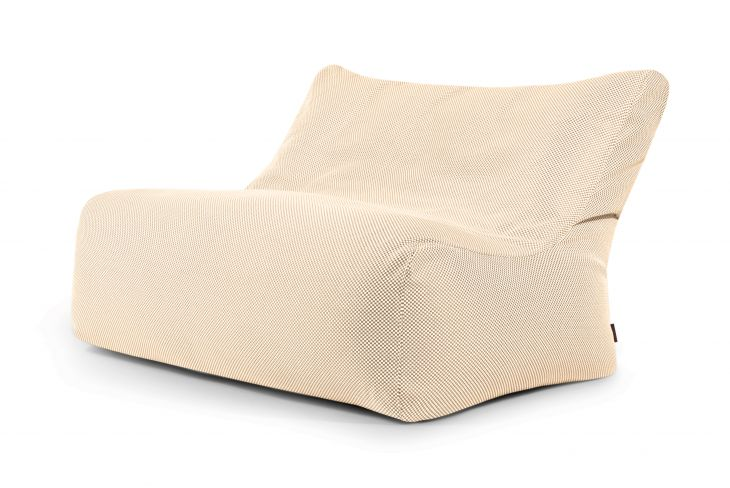 Sitzsack Bezug Sofa Seat Capri Beige