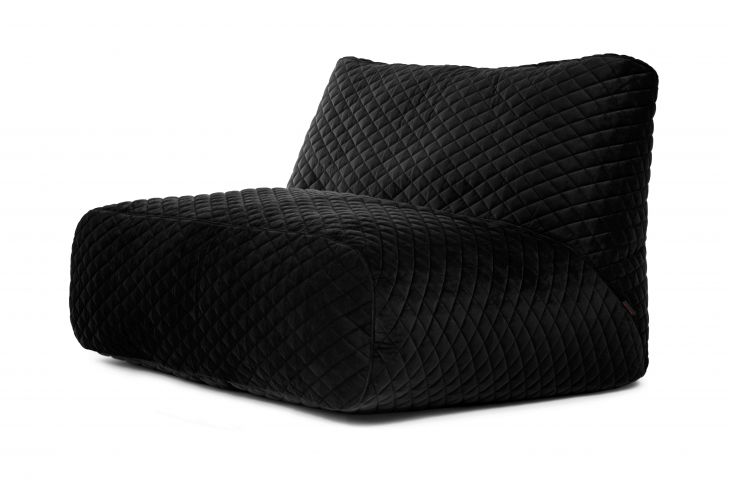 Sitzsack Sofa Tube Lure Luxe Black