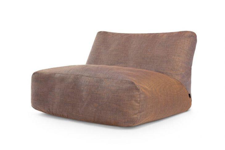 Sitzsack Bezug Sofa Tube Sideway Bronze