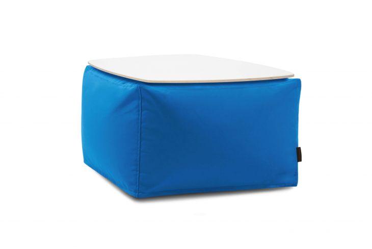Sėdmaišių komplektas - Soft Table 60 Colorin Azure