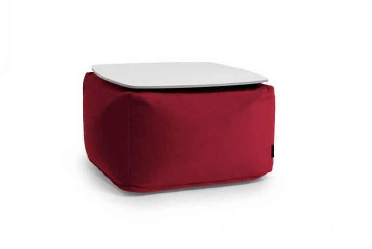 Sėdmaišių komplektas - Soft Table 60 Barcelona Bordo