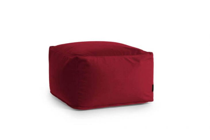 Pouf Softbox Barcelona Bordo