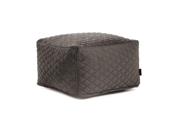 Sitzsack Bezug Sofbox Lure Luxe grau