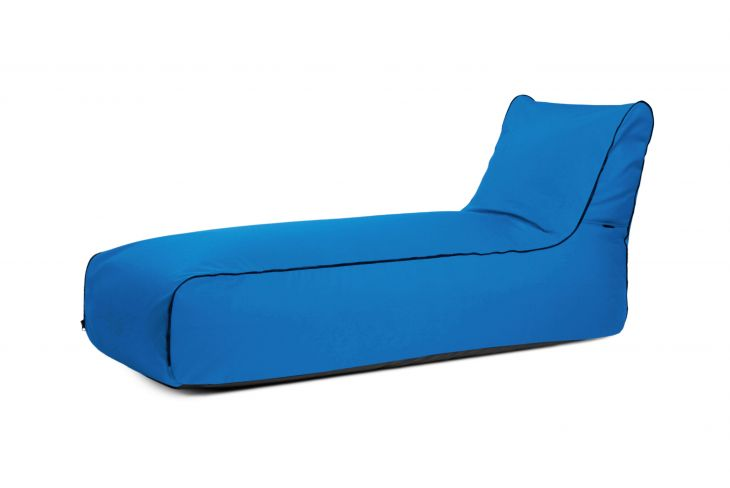Bean bag Sunbed Zip Colorin Azure