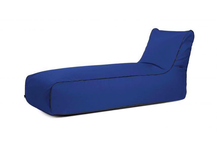 Sitzsack Sunbed Zip Colorin Blau