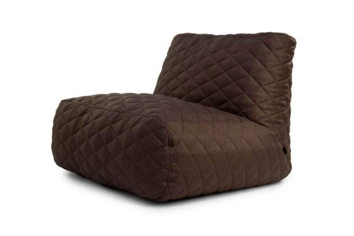 Bean bag Tube XL Quilted Nordic Chocolate