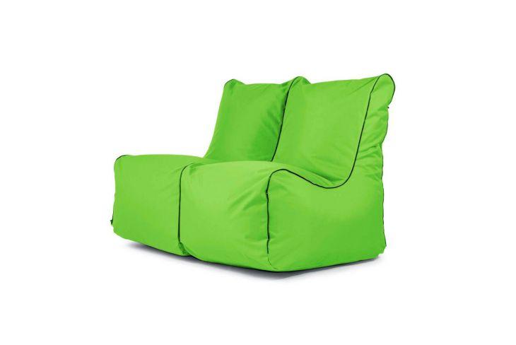 Sitzsack Set - Seat Zip 2-Sitzer OX Apfelgrün