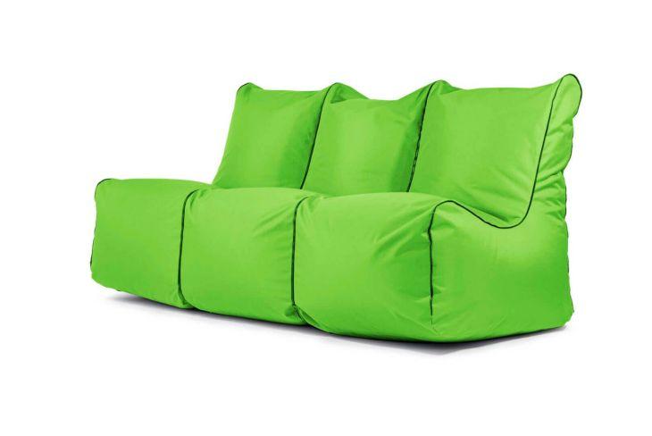 Sitzsack Set - Seat Zip 3-Sitzer OX Apfelgrün