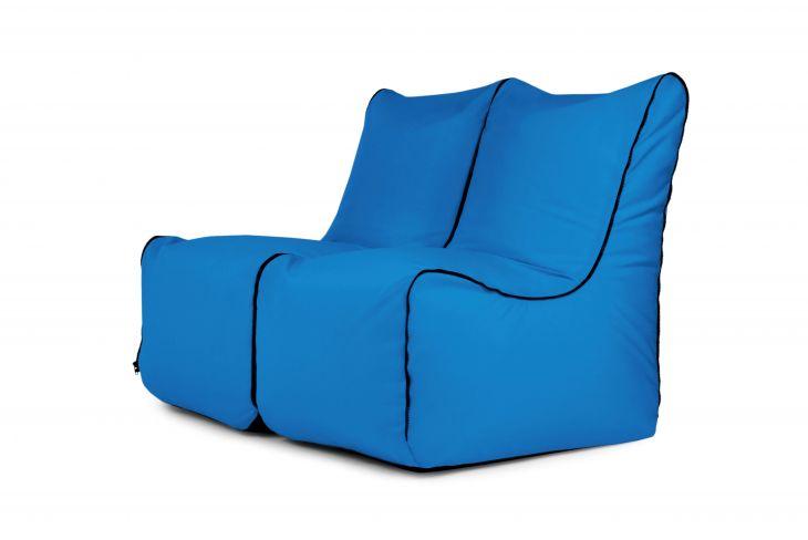 Set Seat Zip 2 Seater Colorin Azure