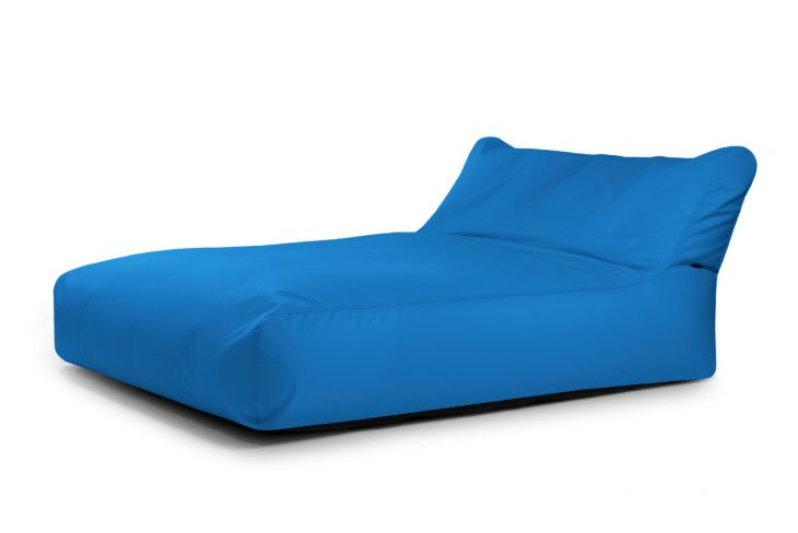 Sitzsack Bezug Sofa Sunbed Colorin Azure