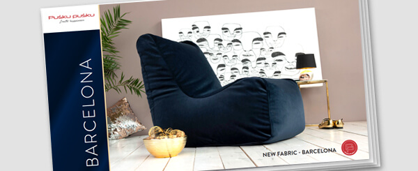 BARCELONA fabric modern and luxurious