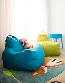 Bean bag Game Nordic Turquoise