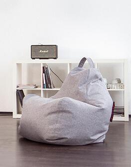 Bean bag Play Home Light Grey