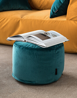 Bean bag Mini Barcelona Dark Turquoise