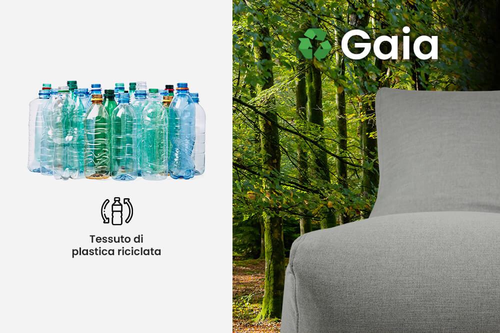 Il tessuto viene riciclato dalla plastica - Gaia