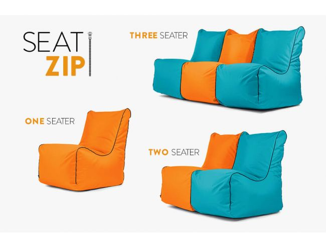 NEWS! ZIP edition bean bags with zippers.