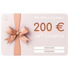 Gift Coupon 200 Eur