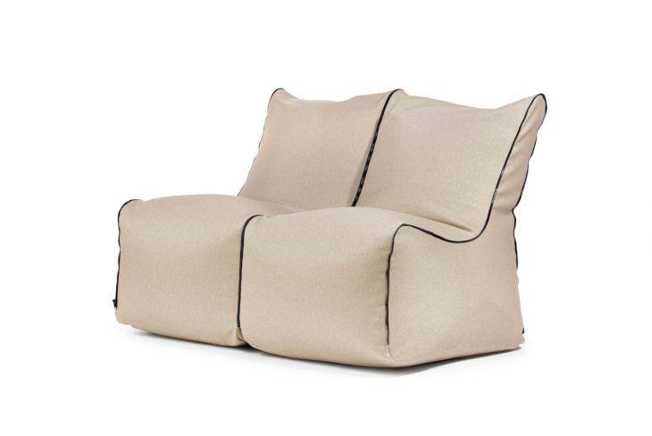 Set - Set Seat Zip 2 Seater Nordic Beige