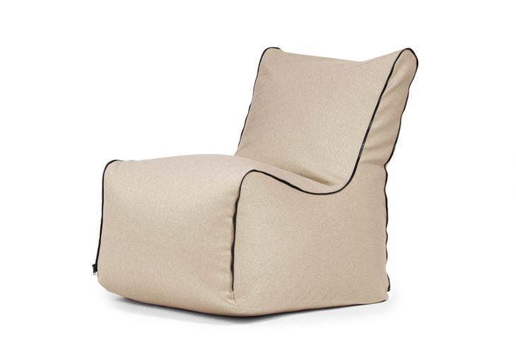 Sitzsack Seat Zip Nordic Beige