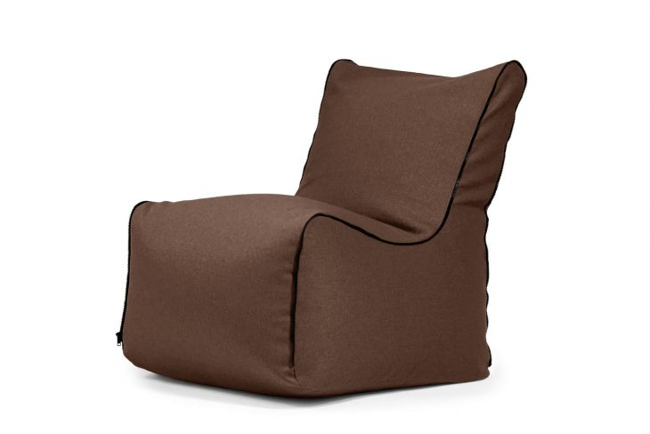 Bean bag Seat Zip Nordic Chocolate