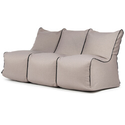 Set Seat Zip 3 Seater Nordic