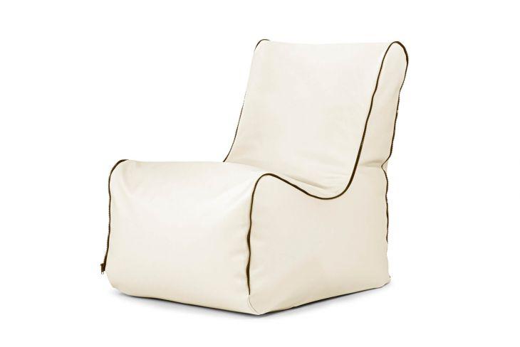 Sitzsack Seat Zip Outside Beige